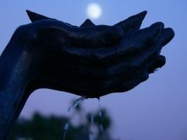 holding the moon by michaelhade