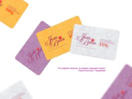 Jean Batist discount cards by maxmew