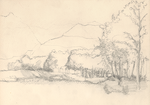 Countryside Landscape (sketch phase) by catazarch
