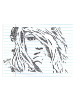 Brittany Spears_Pen Scribble by MaxDaMonkey