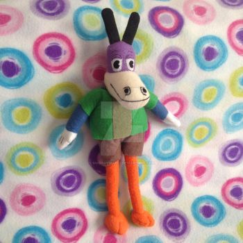 (Big Bonkers) Toontown Horse Plushie by MadameWario