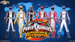 Power Rangers Operation Overdrive WP by jm511