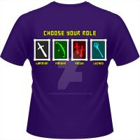 RPG Class T-Shirt by goblinworkshop