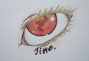 Eye of The Knight of Time by TreyStrider