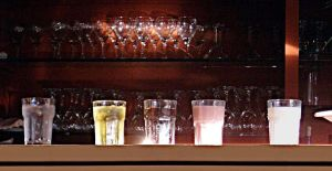 Five Glasses by barefootliam