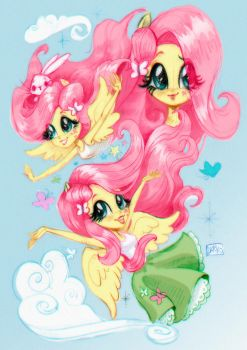 The element of kindness, Fluttershy by darkodordevic