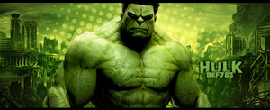 Hulk by StraightEdgeFan783