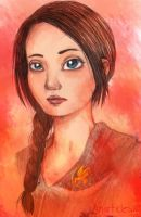 The Girl on Fire by smarticles101