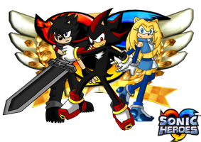 Team Ark Sonic Heroes by Retzan