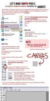 Pixel Shit Tutorial by Auddits