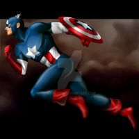 Captain America by falcon-creative
