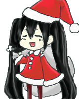 Christmas Azusa by moondrop1XD