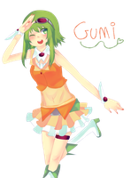gumi megpoid by 8itchtier