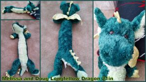 Melissa and Doug Longfellow Dragon by Vesperwolfy87