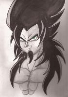 Green Eyed Saiyan Complete by roseoffate45