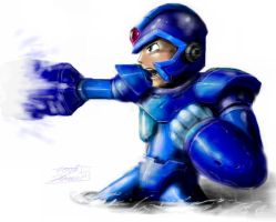 RockmanX by LordHannu