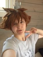 Kingdom Hearts - Little Tiny Boy with a Crown by ONEOKCosplay