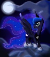 Luna's Journey by jarkey11