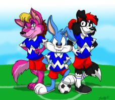 Buster's Soccer Team by TDotBabs