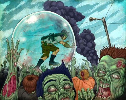 zombie ball by mr-biggs