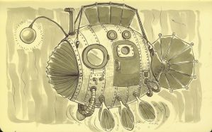 Live in the bathysphere by zumart