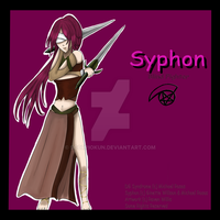 Poster Series: Syphon by ScorpioKun