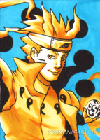 Naruto Art Card by TwinEnigma