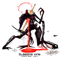 THE BLEEDING KING by Hazu-haze