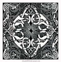 CELTIC ART   381 by oboudiart