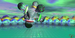 Import mandelbulb 3D in Bryce by Sstroitel