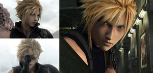 Cloud Strife 2 by AuraIan