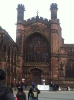 Chester Cathedral by Sekkaiki