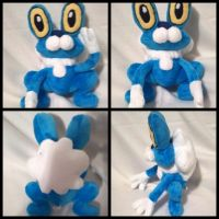 Froakie plush by LRK-Creations