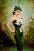 Miss Katie Museum Corset by ladymorgana