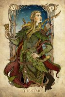 Tarot: The Star by SceithAilm