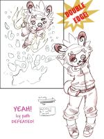Nutmeg Battle Island Page 1 by spiderliing666