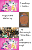 Friendship is magic the gathering by elvenbladerogue