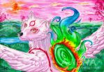 Amaterasu Let is Go by AJIENA