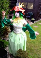 Lilligant Cosplay by TheBlindProphetess