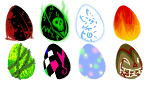 Fantasy Egg Adoptions by SunoWolf