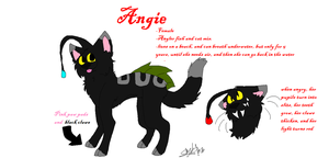 Angie ref!! by iW-O-L-F