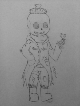Sans from Scarecrowtale by LinneaSweden98