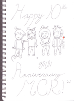 MCR 10th Anniversary by Luffy0001