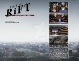 Clayton Crain's INTO A RiFT issue 1 page 1-2 by HeyCat