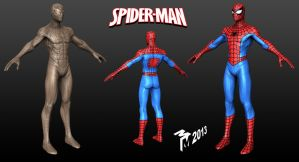 Mudbox spiderman. by muttleymark