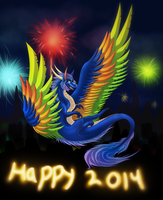 happy 2014 by xBlackfangx