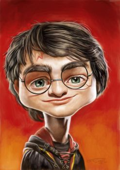 HARRY POTTER by JaumeCullell
