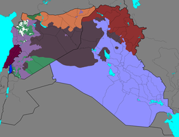 Syrian Civil War and spillovers: 25/2/2017 by Thumboy21