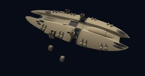 Polaris class frigate 11 by Scifiwarships