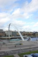 Gateshead Millennium Bridge by StuartVinton